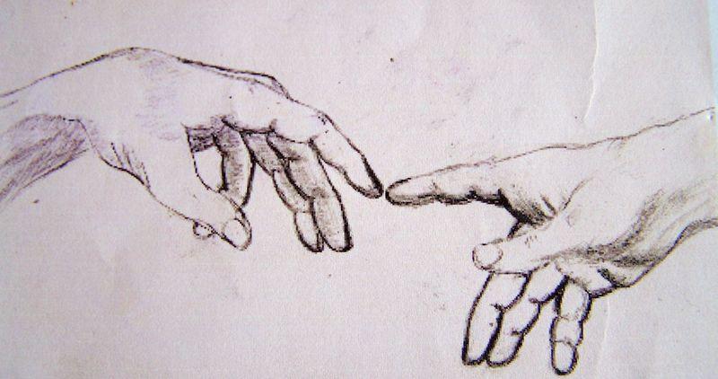 M ditation autour de l 39 enfance papillons de mots - Dessin de la main ...
