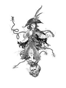 fille maudite capitaine pirate