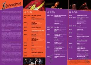 Clair de Bastide - Programme 2