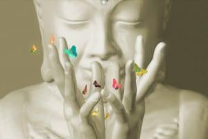 bouddha et mudra