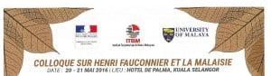 Colloque Henri Fauconnier Malaisie - Header