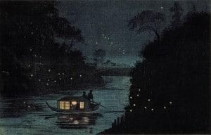 Kobayachi Kiyochika - Lucioles à Ochanomizu, 1877 387